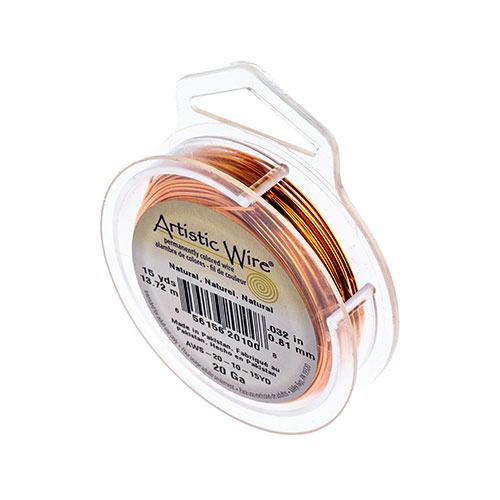 ART WIRE 20G Lead/Nickel SAFE NATURAL COPPER image