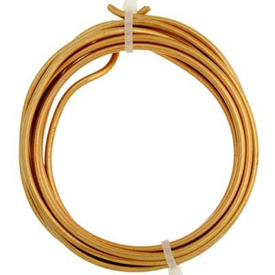 ART WIRE 10G Lead/Nickel Safe Non-Tarnish Brass image