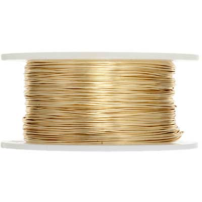 Silver Plated Wire 28ga Lead/Nickel Safe Gold image