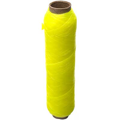 SINEW BOBBIN 20m Neon Yellow 70lb test Header image