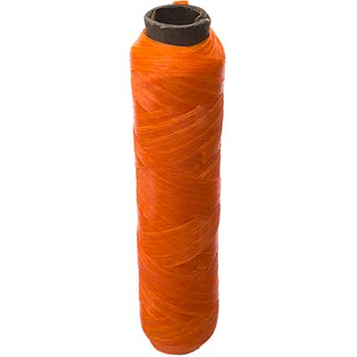 SINEW BOBBIN 20m Neon Orange 70lb test Header image