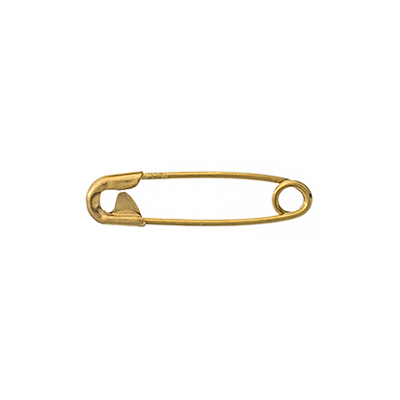 SAFETY PINS (000) 19mm GOLD image