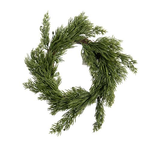 Christmas Wreath 9.5in image