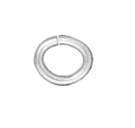 T.C. - Jump Ring 20 gauge Oval 2.7x4.2mm I.D. Silver image
