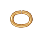 T.C. - Jump Ring 20 gauge Oval 2.7x4.2mm I.D. Gold image