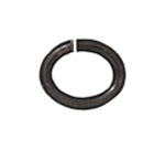 T.C. - Jump ring 20 gauge Oval 2.7x4.2mm BLACK image
