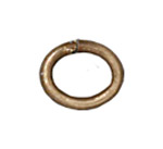 T.C. - Jump ring 20 gauge Oval 2.7x4.2mm BRASS OXIDE image