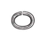 T.C. - Jump Ring 20 gauge Oval 2.7x4.2mm I.D. Rhodium image