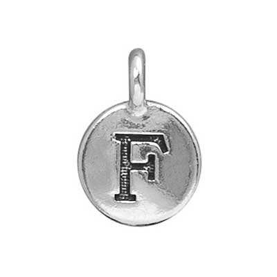 T.C. - Charms F Antique Silver image