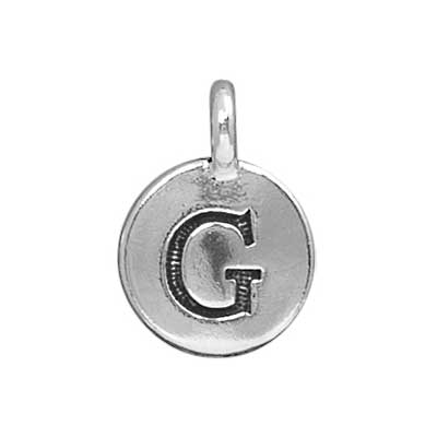 T.C. - Charms G Antique Silver image