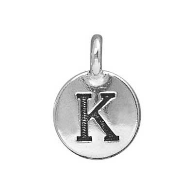 T.C. - Charms K Antique Silver image