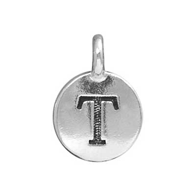 T.C. - Charms T Antique Silver image