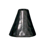 T.C. - CONE HAMMERED 7mm BLACK image