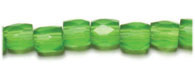 GLASS BEAD ORNELA CUT 7/7MM OLIVINE image