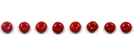 GLASS BEAD ROUND/FLAT 4MM OPAQUE DARK RED image