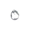 GLASS BEAD BRIOLETTES 11x10MM PEAR SHAPE CRYSTAL image