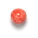 GLASS BEAD ROUND 8MM LT.CORAL MATRIX STRUNG image