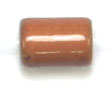 "GLASS CAT BEAD 4x6mm BROWN STRUNG TUBE 1X16""/68-70 PCS image"