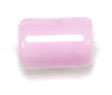"GLASS CAT BEAD 4x6mm PINK STRUNG TUBE 1X16""/68-70 PCS image"