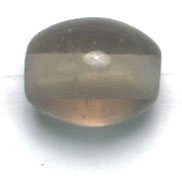 GLASS BEADS 9x11mm OVAL BLACK DIAMOND image