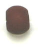 ACRYLIC STONE WASHED 5mm BROWN 3.8mm hole image