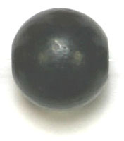 WOODEN BEAD ROUND 12mm BLACK image