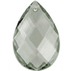 Preciosa Drop Almond 2661 89x58mm Dove Grey image
