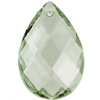 Preciosa Drop Almond 2661 89x58mm Sage Green image