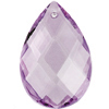 Preciosa Drop Almond 2661 89x58mm Light Lilac image